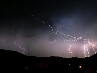 гръмотевични бури