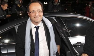 Фаворитът за нов президент на Франция Франсоа Оланд