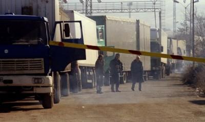 Затруднена е работата на граничните екипи на ГКПП-Калотина