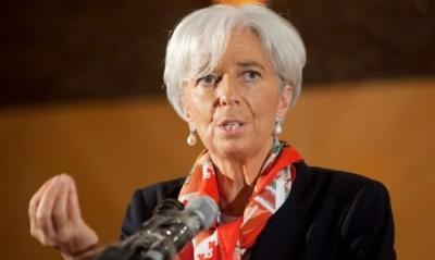 иректорката на Международния валутен фонд (МВФ) Кристин Лагард