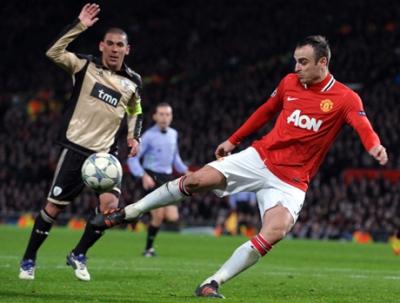 Испанският Малага е в напреднали преговори с нападателя на Манчестър Юнайтед Димитър Бербатов