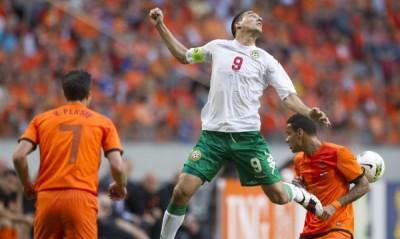 България успя да постигне доста шокираща победа с 2:1 като гост над един от големите фаворити на Евро 2012 Холандия