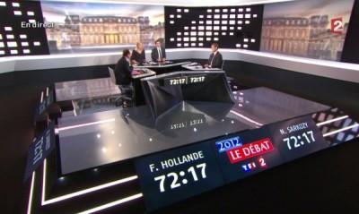 Сдържаният Оланд срещу хищника Саркози