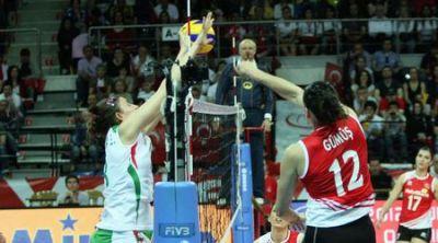 Волейболистките загубиха тежко на старта на олимпийската квалификация в Турция