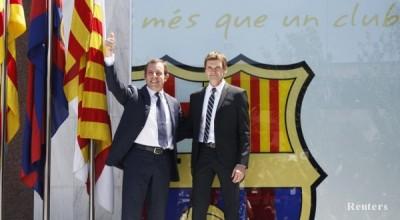 Носителят на купата на Испания Барселона привлече Хуан Анхел Роман