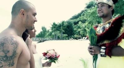 Николета и Валери на Бора бора се ожениха отново.