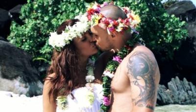 Ексклузивно! Николета и Валери се ожениха тайно в Бора Бора