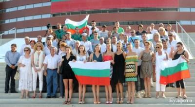 Общо петима български спортисти ще участват в индивидуални състезания на олимпийските игри в Лондон днес.