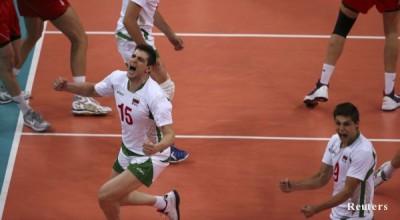 """България удари Полша с 3:1 гейма в група """"А"""" на летните олимпийски игри в Лондон"""