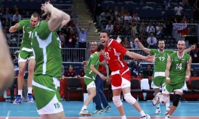 Велика България разби с 3:0 гейма (25:20, 25:16, 25:14) Германия и се класира на полуфинал на Олимпийските игри в Лондон.