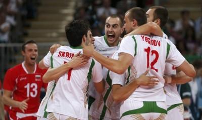 """Българският национален тим по волейбол разби Италия с 3:0 и по този начин завърши на първо място в група """"А"""" на олимпийския турнир."""