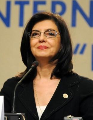 """Държавата вече не функционира, заяви на пресконференция в Търговище председателят на движение """"България на гражданите"""" Меглена Кунева."""