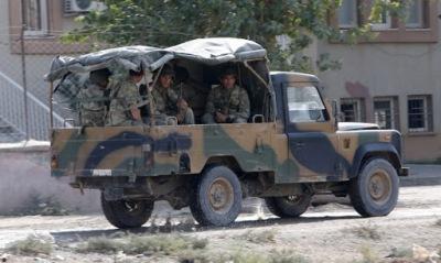 Армията на Турция от днес е в повишена бойна готовност.
