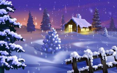Коледен тапет