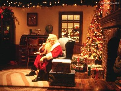Дядо Коледа - тапет