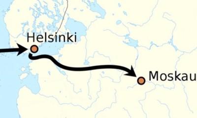 Пътят на Руст от Хелзинки до Москва