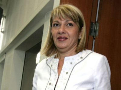 Министърът на околната среда и водите Нона Караджова