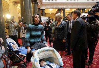 Бебета в парламента