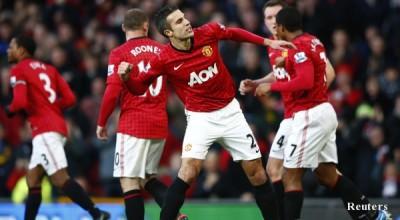 """Манчестър Юнайтед победи с 3:1 Съндърланд на """"Олд Трафорд"""""""