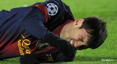 В Барселона притеснени от контузията на Меси