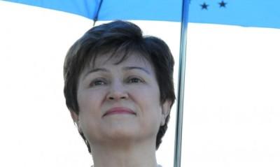 "интервю за ""Труд"" на еврокомисарят Кристалина Георгиева."