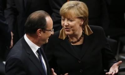 Ангела Меркел Франсоа Оланд