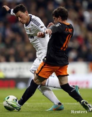 Реал Мадрид с чиста победа над Валенсия за купата