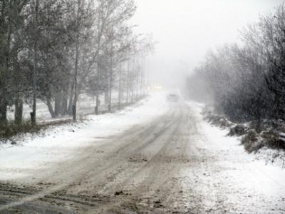 Сняг вали в някои части на страната