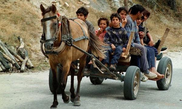 Гръцките власти са открили семейната двойка и 4-годишното момиче, които обитавали лагер в околностите на Солун